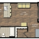Park Place apts studio floor plan